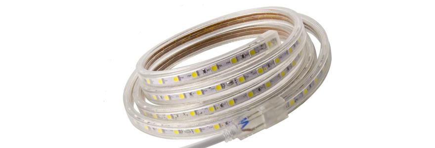 inégale en performance 100% de satisfaction haut de gamme authentique Des Rubans LED 220V pour l'éclairage de vos chantiers.