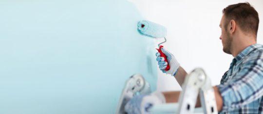 Travaux de rénovation de peinture