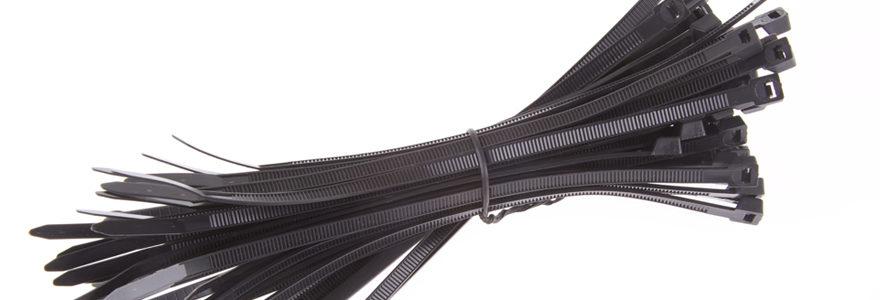 Utiliser des colliers de serrage